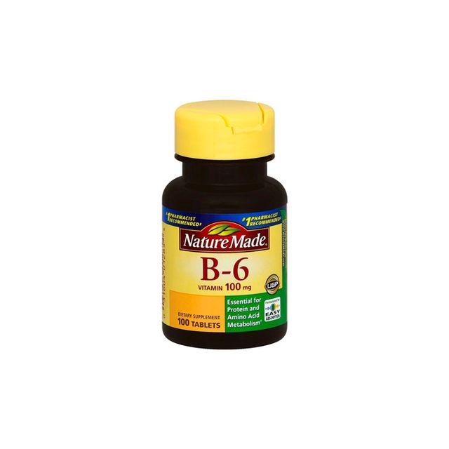 Nature Made B-6 - best vitamins for skin