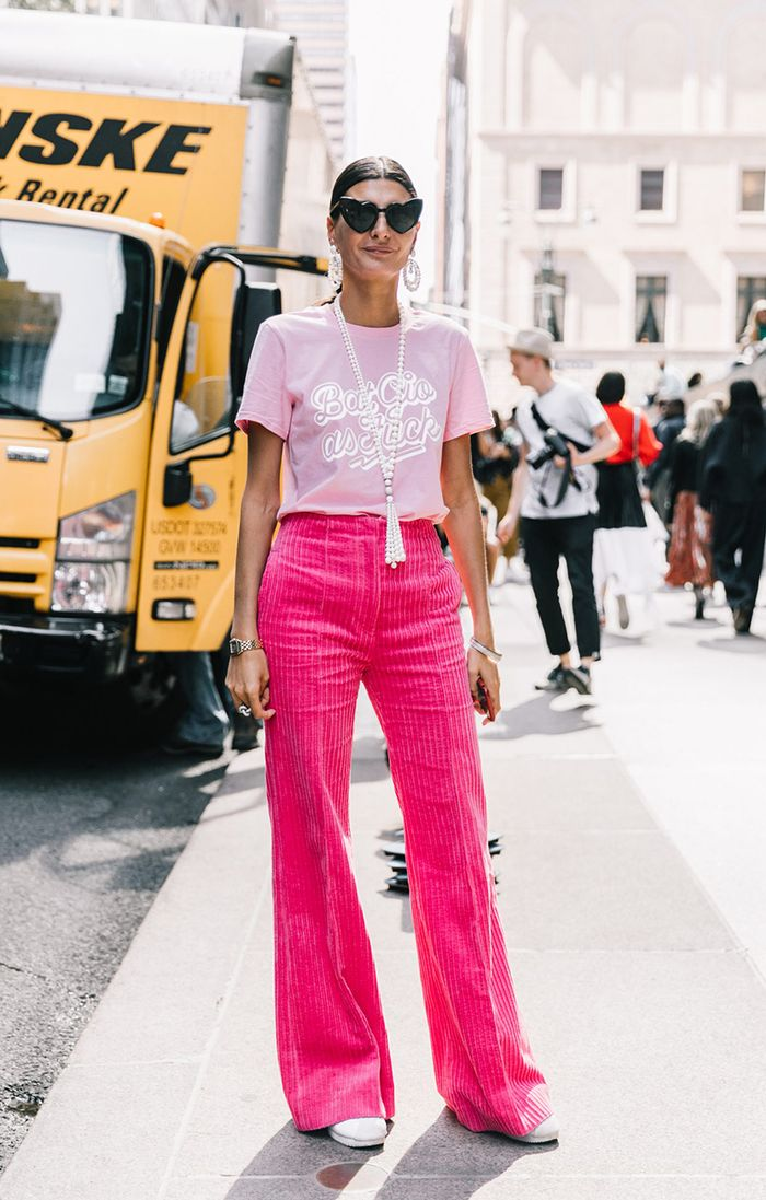 Here Are The Best Ways To Wear Wide Leg Trousers Who