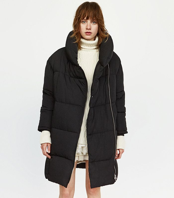 92d62086 Zara Has the Coolest Winter Coats Right Now | Who What Wear
