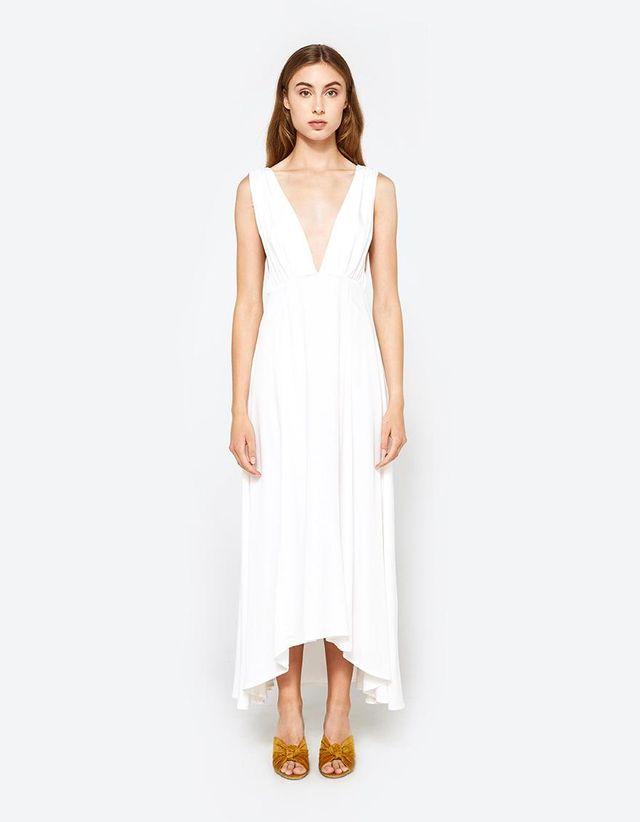 Giza Dress in White