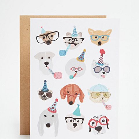 Party Dogs Card