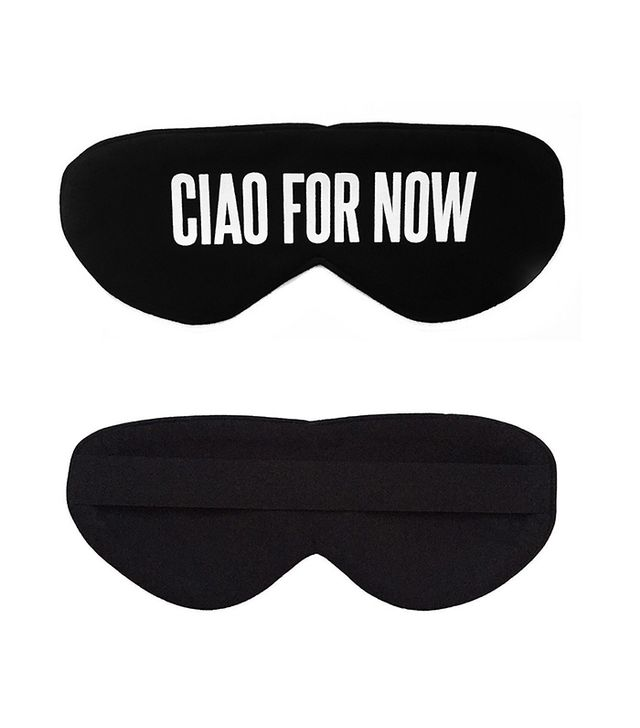 Ciao For Now Sleep Mask