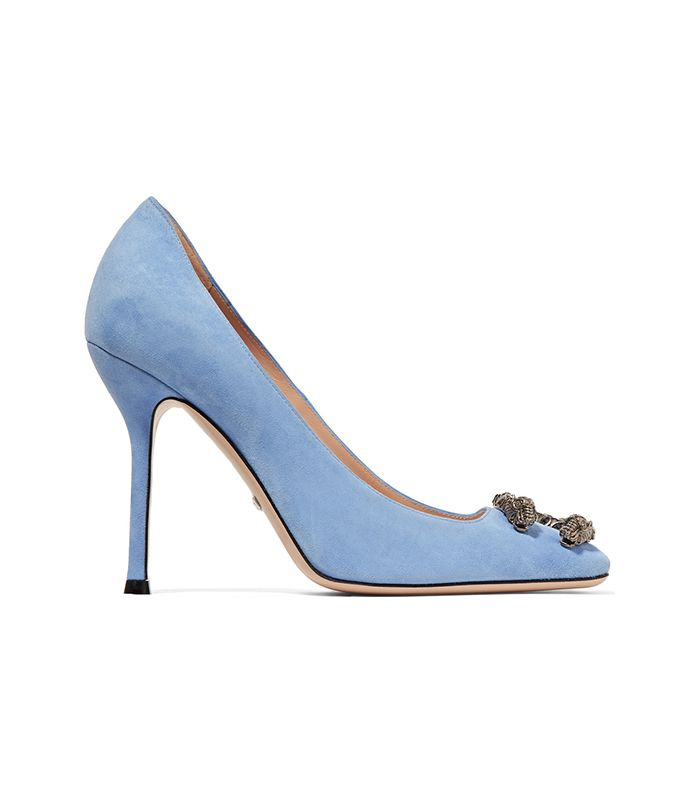 22 Blue Shoes To Wear On Your Wedding Day Who What Wear