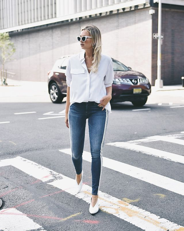 7 for All Mankind We Wore What x Bloomingdale's Ankle Skinny Jeans