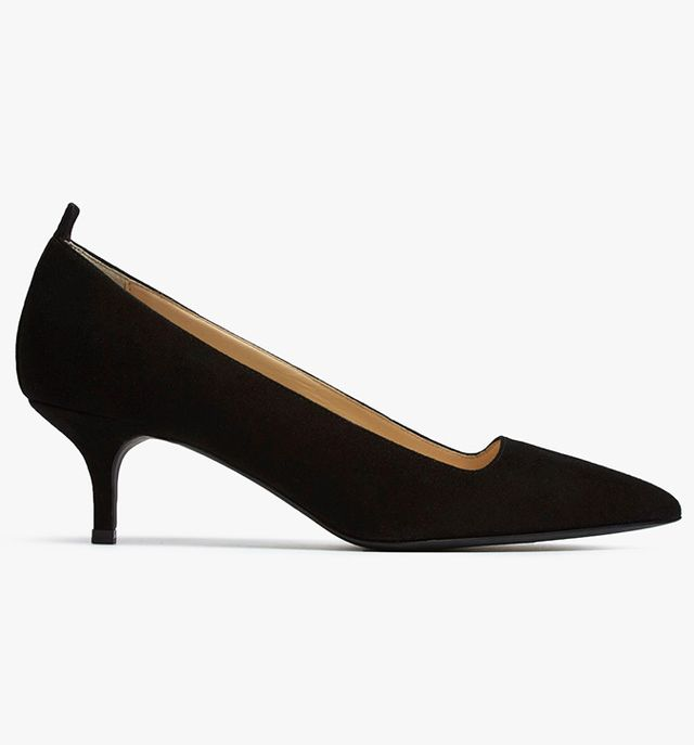 Everlane The Editor Heels in Black