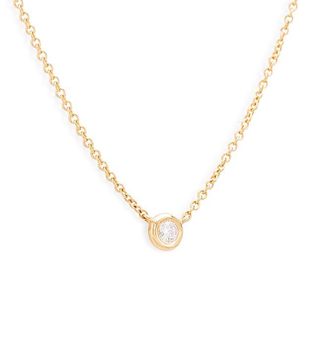 Mejuri Diamond Necklace