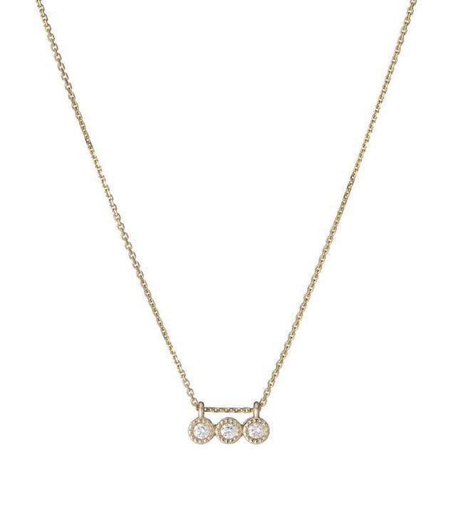 Jennie Kwon Designs 3 Diamond Necklace