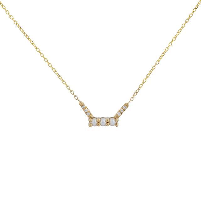 Jennie Kwon Diamond Shooting Star Necklace