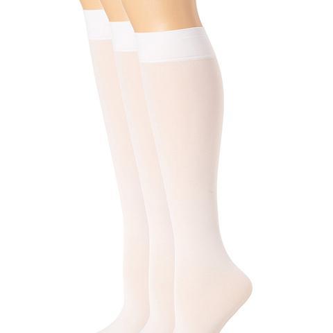 Soft Opaque Knee-High Socks