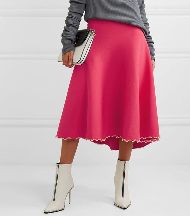 Bandage Midi Skirt