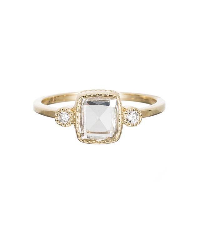 Jennie Kwon Square RC Diamond Elevate Ring