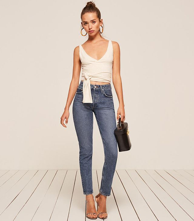 Reformation Skinny French Jean