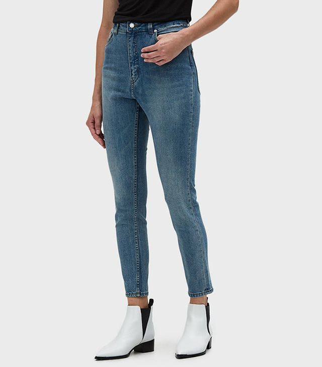Cheap Monday Donna Jeans in Penny Blue