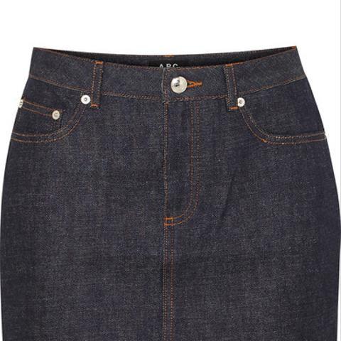 Standard Denim Mini Skirt