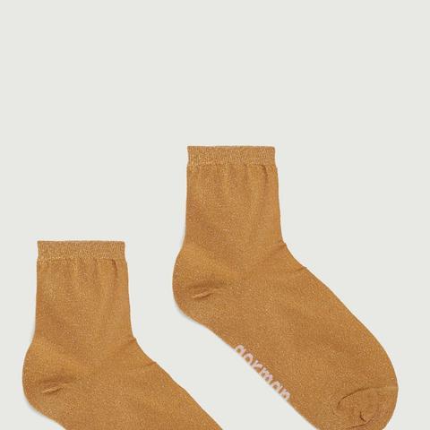 Gold Sparkle Socks