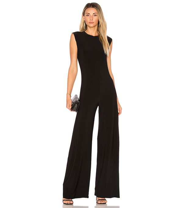 Sleeveless Jumpsuit in Black. - size XS (also in L)