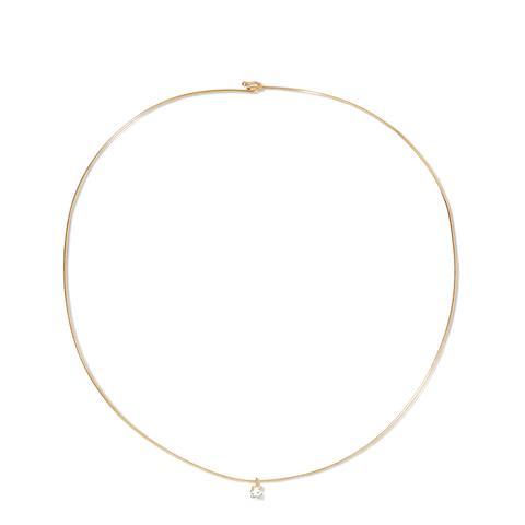 9-Karat Gold Sapphire Choker