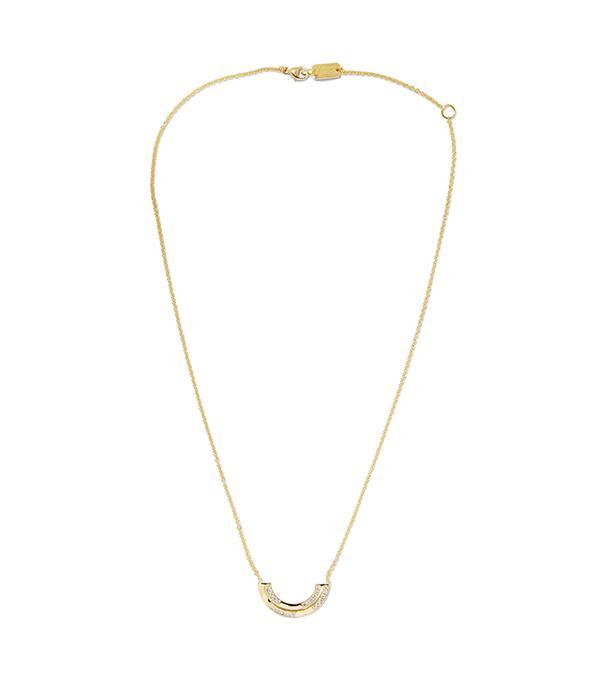 Senso 18-karat Gold Diamond Necklace