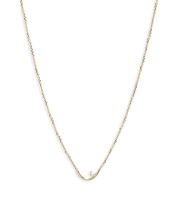 Women's Wwake Arc Lineage Necklace