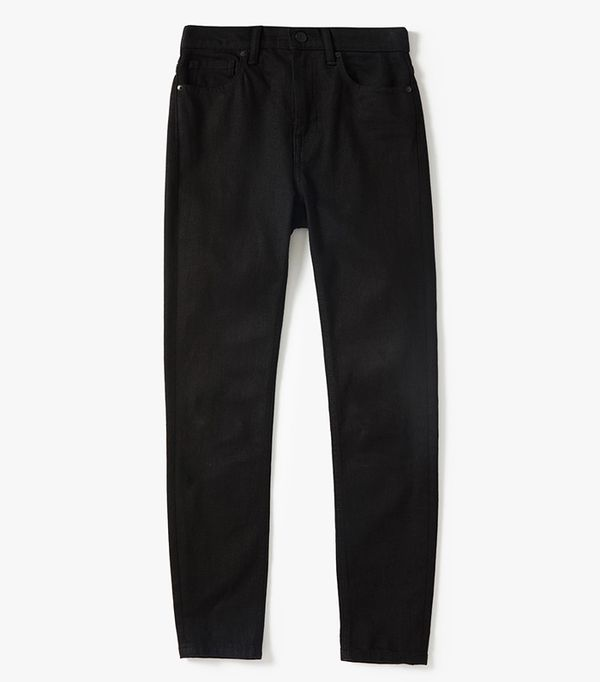 Women's High-Rise Skinny Jean (Regular) by Everlane in Stay Black, Size 30