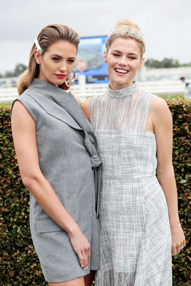 Jesinta Franklin's Caulfield Cup Race Outfit