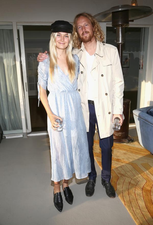 Bridget Malcolm and husband