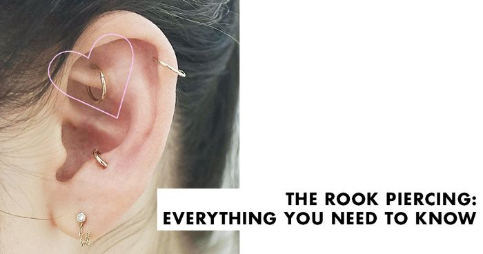 Rook Piercing 101 Everything You Need To Know Byrdie Uk