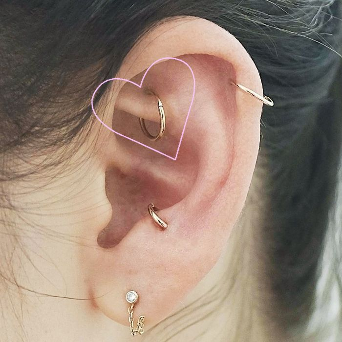 Rook Piercing 101 Everything You Need To Know Byrdie