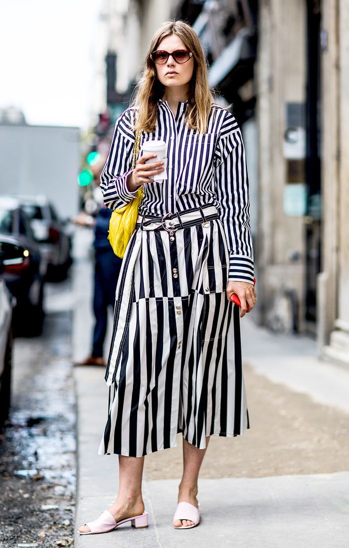 23 stripedshirt outfits to wear on repeat  who what wear