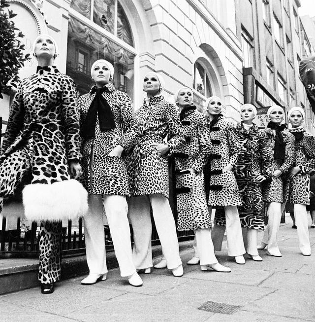 '60s Fashion: Leopard was the print du jour