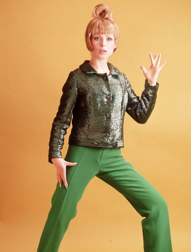 '60s Fashion: No look was complete without a sparkly jacket