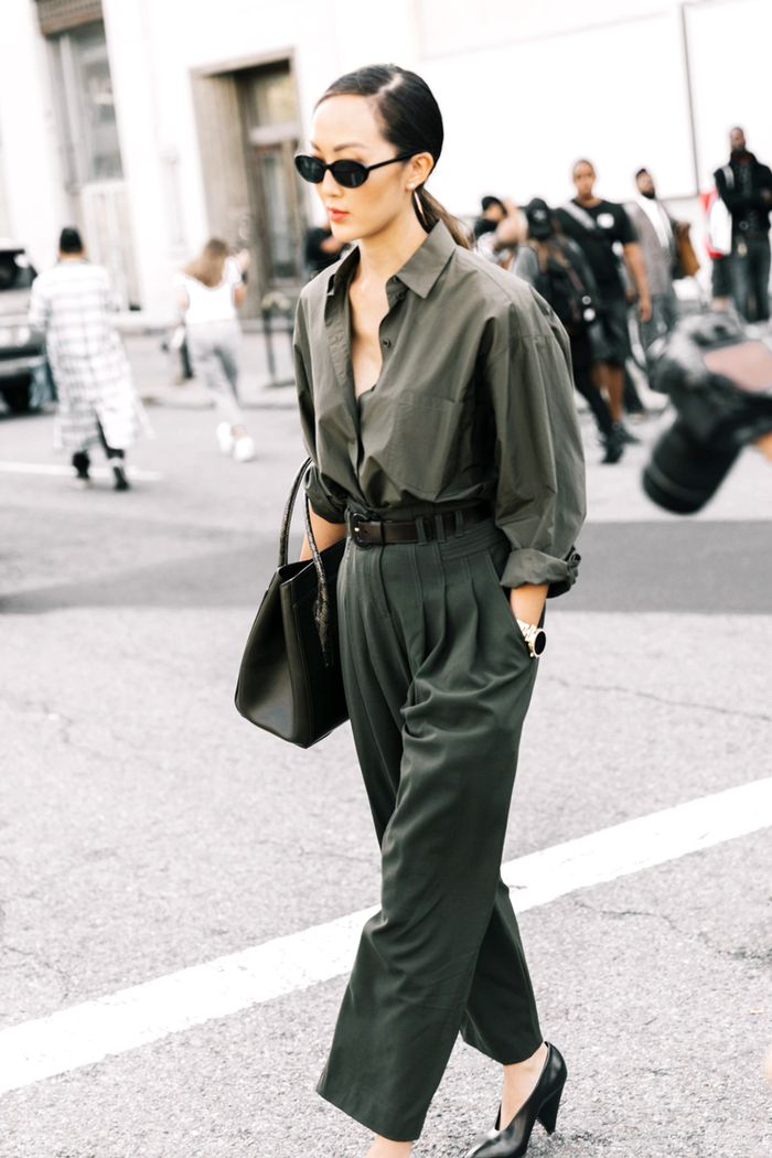 2bda0a598b2 14 Ways to Mix Olive Green Into Your Fall Outfits