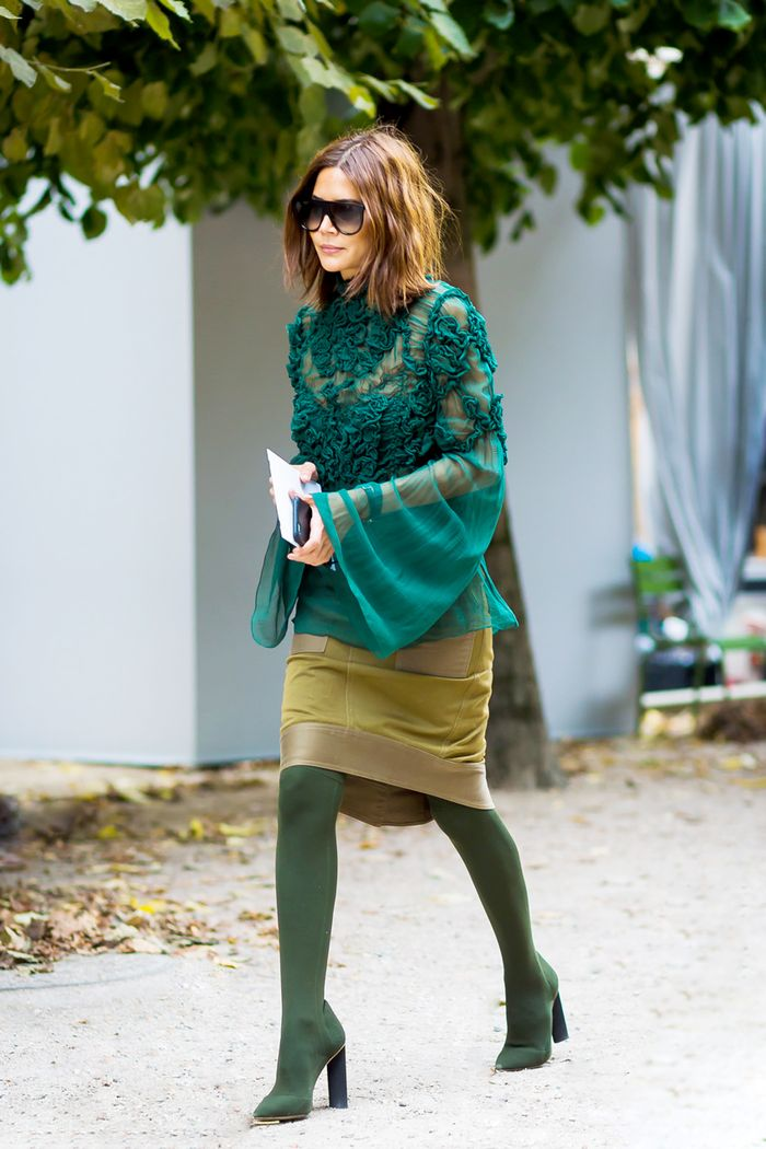 14 Olive Green Outfits You Can Wear Year Around Who What Wear