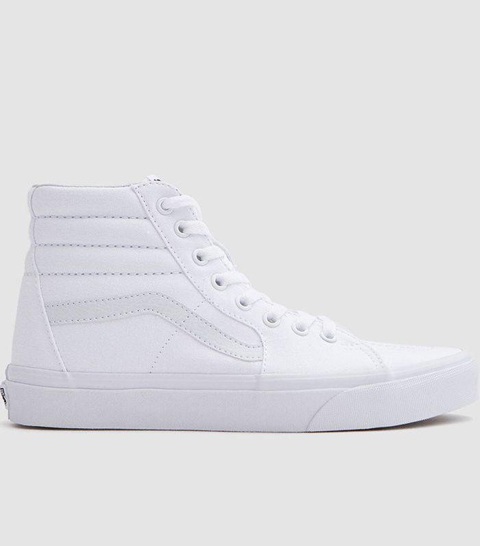 How to Clean White Vans in 4 Steps | Who What Wear