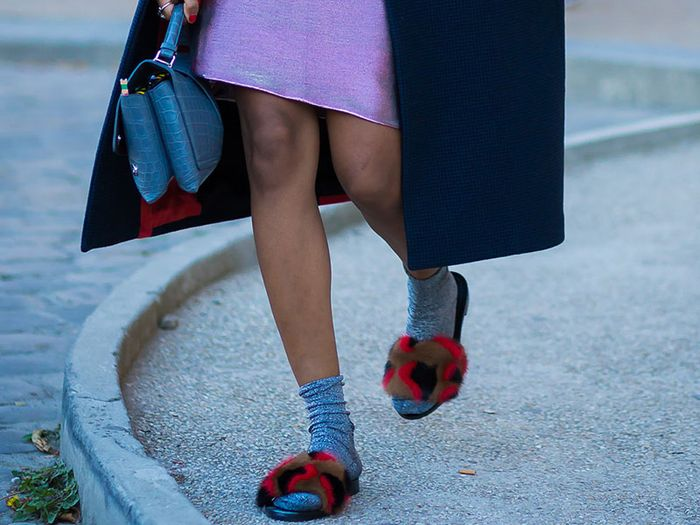 10 cool slides you can still wear this fall who what wear