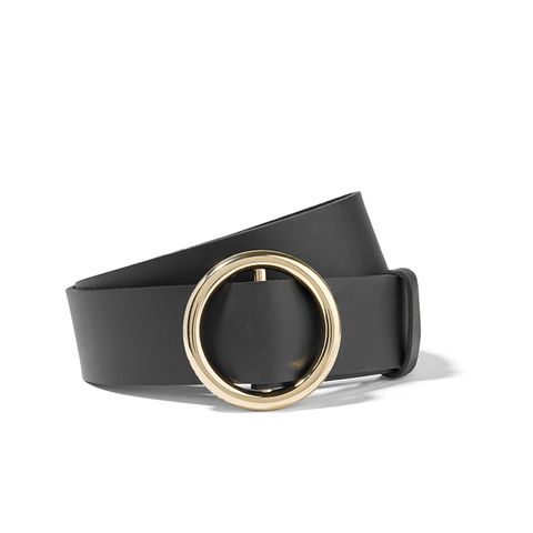 Circle Leather Belt