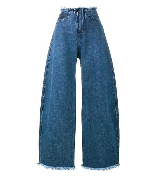 Marques'Almeida Oversized Wide-Leg Jeans