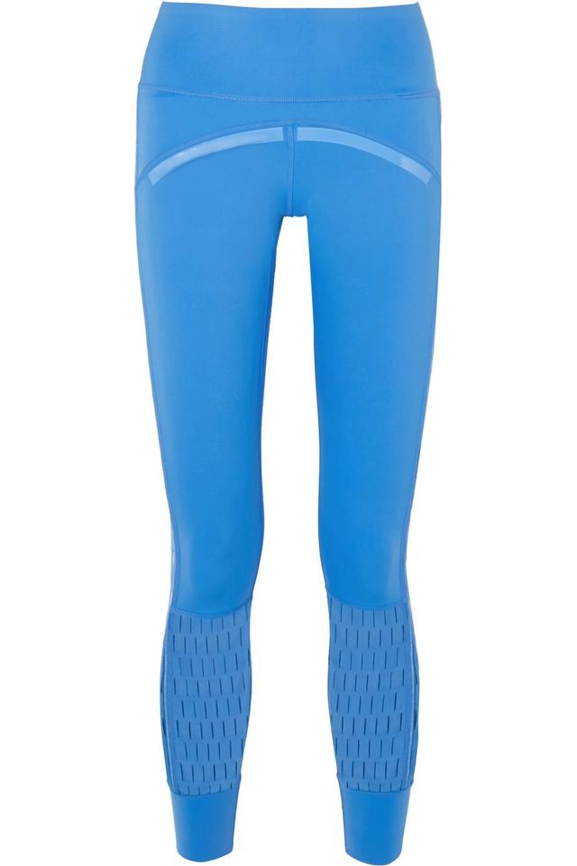Parley for the Oceans Training Believe This Cutout Stretch Leggings