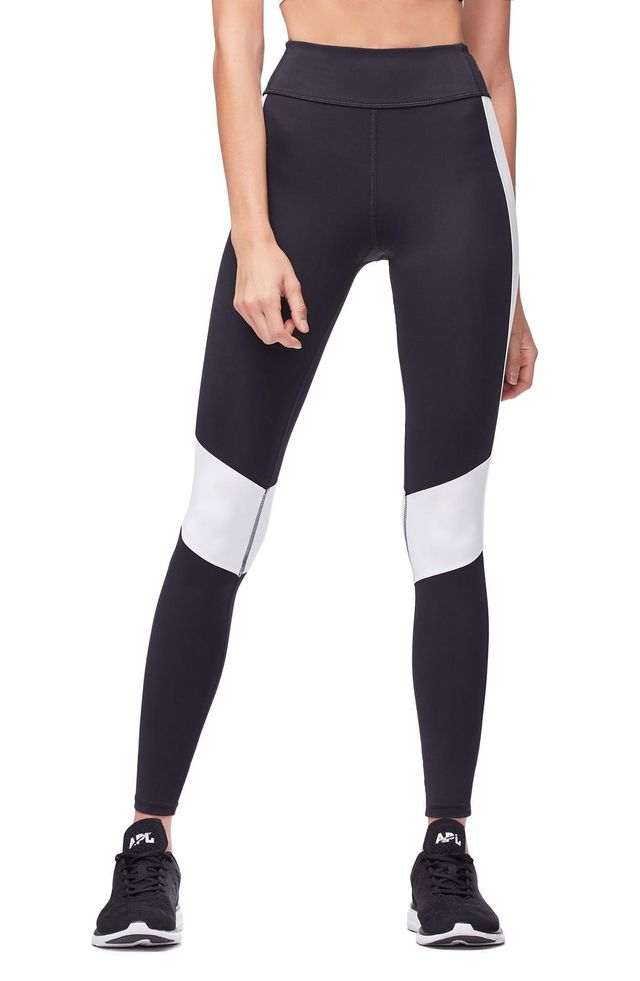 Good American Colorblock Leggings