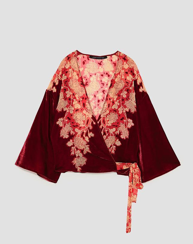 Zara Kimono Top