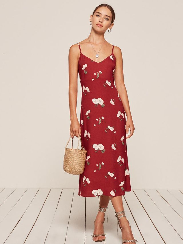 Reformation Boston Dress Summer Trends