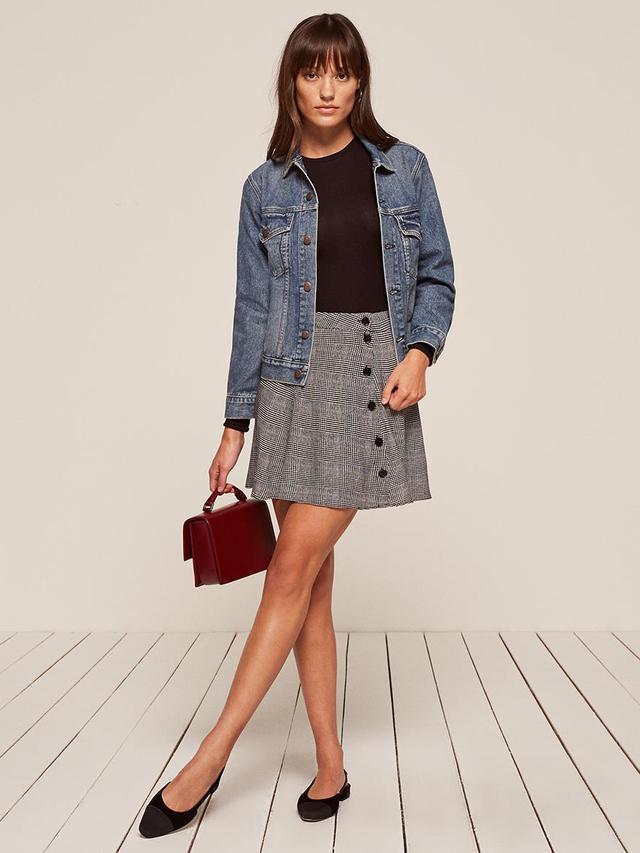 Reformation Delia Skirt Summer Trends
