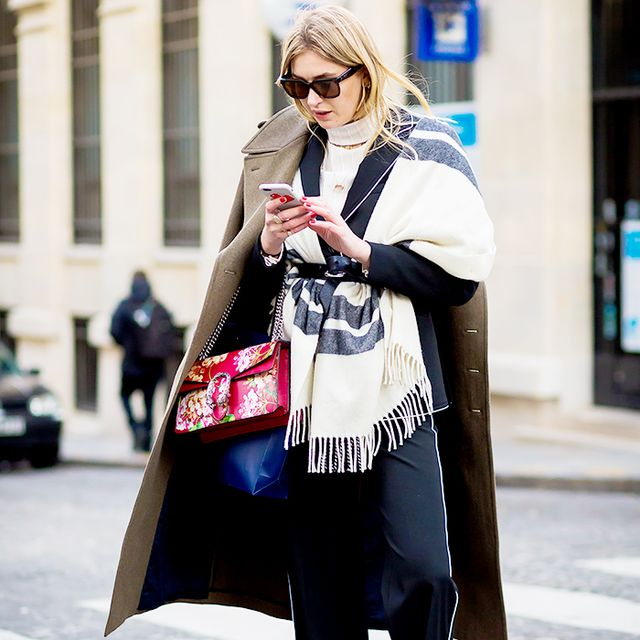 3 Ways to Tie a Blanket Scarf This Winter