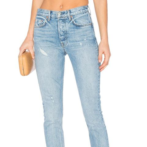 Karolina Customizable High-Rise Skinny Jeans