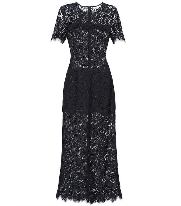 Duval lace dress