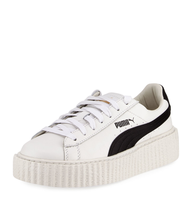 Leather Creeper Sneaker