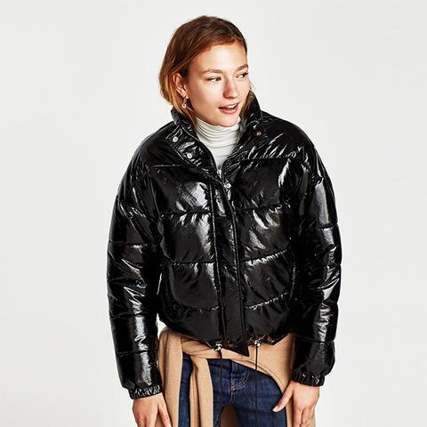 Quilted Vinyl Jacket
