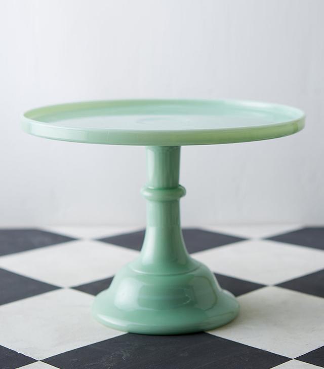 Terrain Jadeite Cake Stand