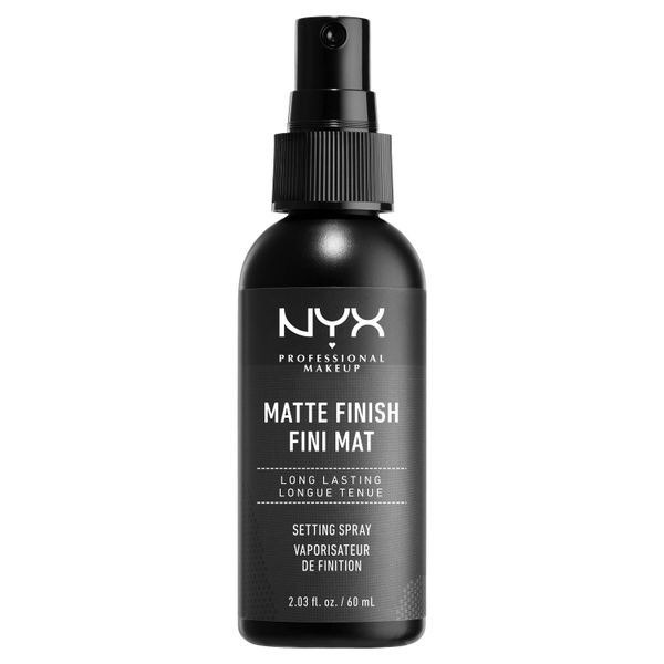 NYX Professional Makeup Setting Spray Matte Finish - best drugstore setting spray