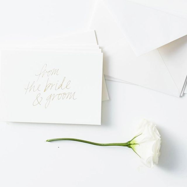 Blacklist Has Released the Wedding Stationery of Your Dreams